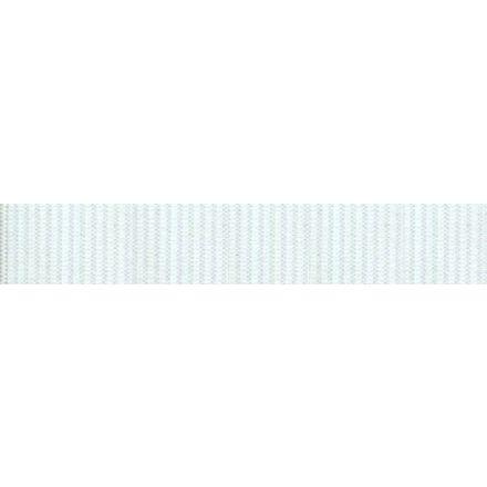 Elastique Plat Indémaillable 7 mm Blanc x1m