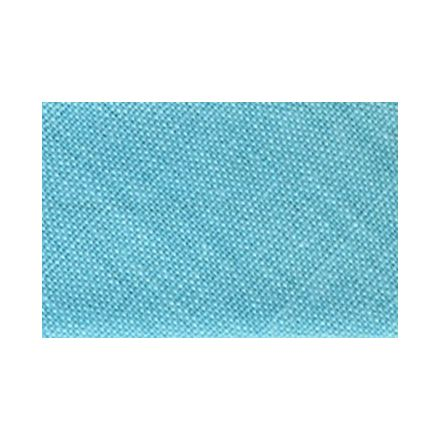 Biais replié tout textile 20 mm Bleu vert x1m