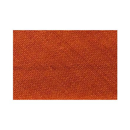 Biais replié tout textile 20 mm Orange de sécurité x1m