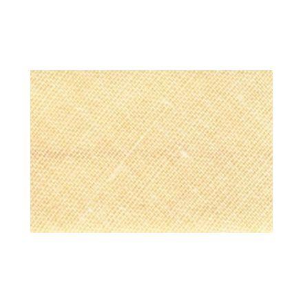 Biais replié tout textile 20 mm Jaune de Naples x1m