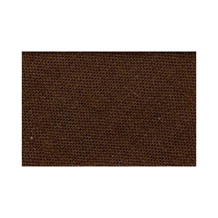 Biais replié tout textile 20 mm Chocolat x1m
