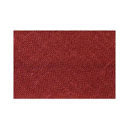 Biais replié tout textile 20 mm Rouge tomate x1m