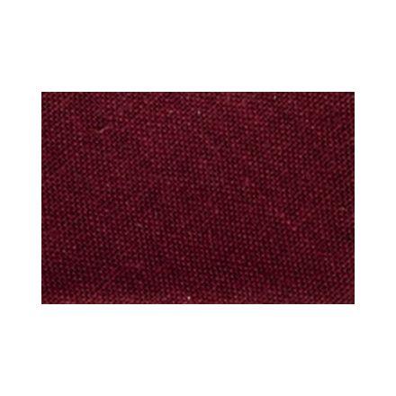 Biais replié tout textile 20 mm Rouge pourpre x1m