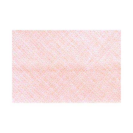 Biais replié tout textile 20 mm Saumon x1m