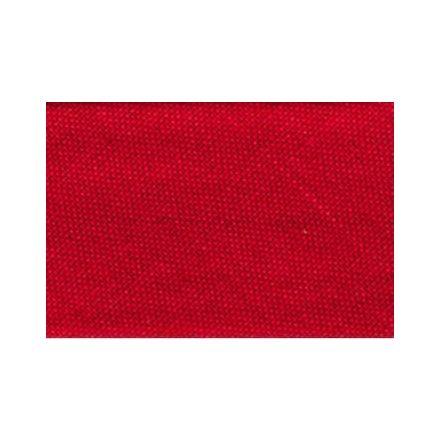 Biais replié tout textile 20 mm Rouge brillant x1m