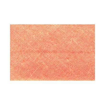 Biais replié tout textile 20 mm Peche x1m