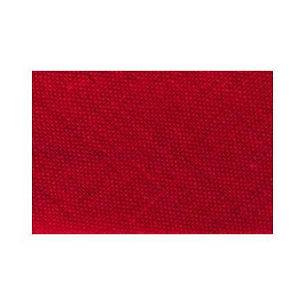 Biais replié tout textile 20 mm Rouge trafic x1m