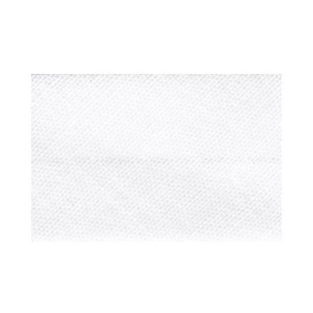 Biais replié tout textile 27 mm Blanc x1m