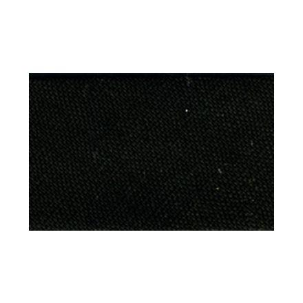 Biais replié tout textile 27 mm Noir x1m