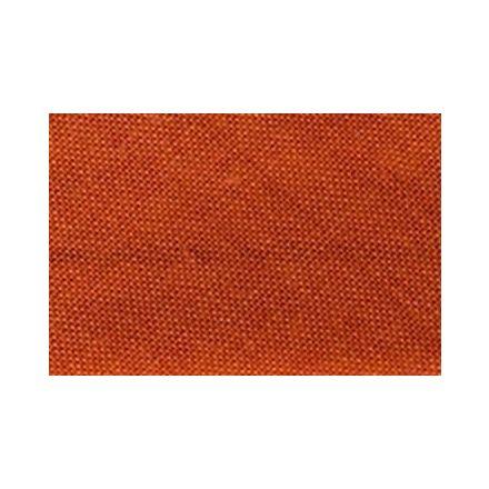 Biais replié tout textile 27 mm Rouge orangé x1m