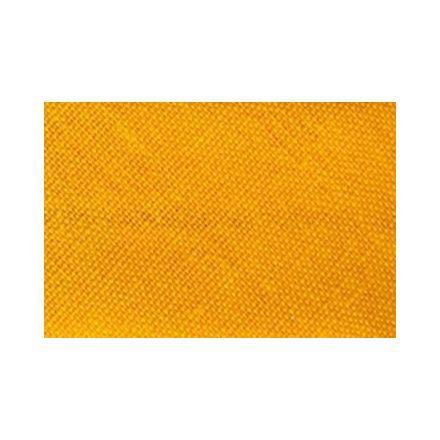 Biais replié tout textile 27 mm Mandarine x1m