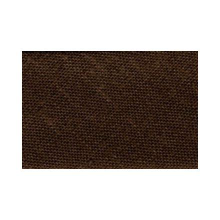 Biais replié tout textile 27 mm Marron chocolat x1m