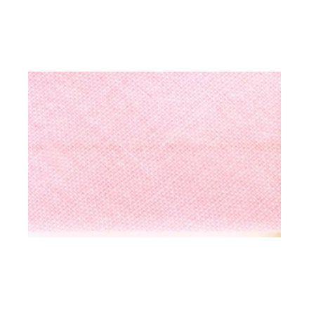 Biais replié tout textile 27 mm Rose clair x1m