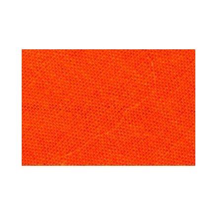 Biais replié tout textile 27 mm Orange x1m