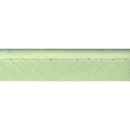 Passepoil tout textile 10 mm Vert blanc x1m