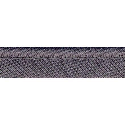 Passepoil tout textile 10 mm Gris ardoise x1m