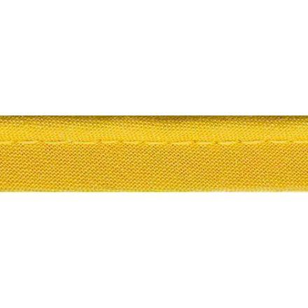 Passepoil tout textile 10 mm Jaune x1m