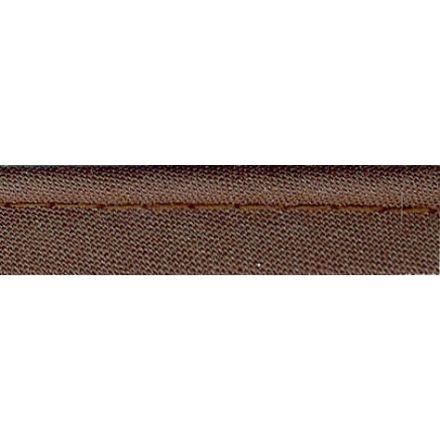 Passepoil tout textile 10 mm Marron x1m