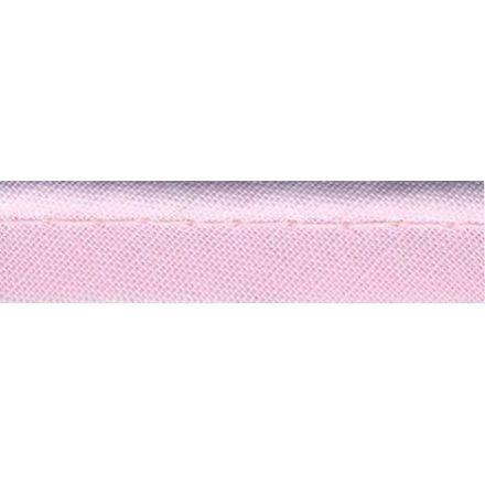 Passepoil tout textile 10 mm Rose clair x1m