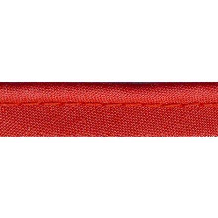 Passepoil tout textile 10 mm Rouge alizarine x1m