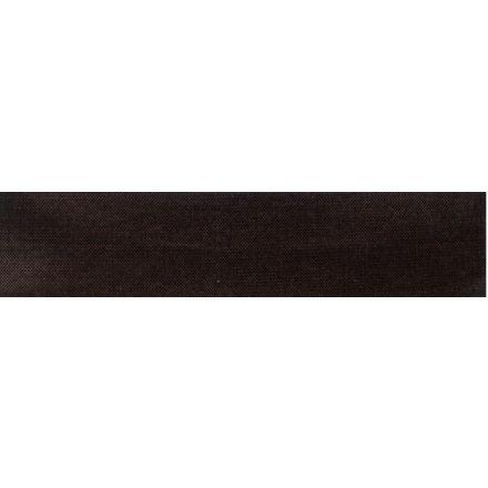 Biais replié stretch Noir x1m
