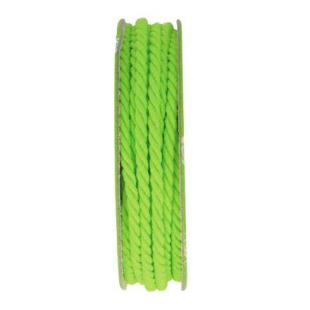 Cordon torsadé Vert - bobinette 2m