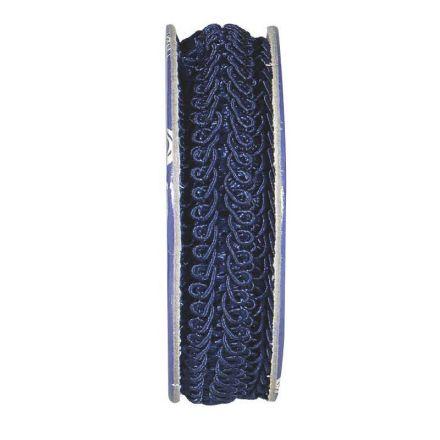 Galon épi de blé Bleu nuit - bobinette 2m