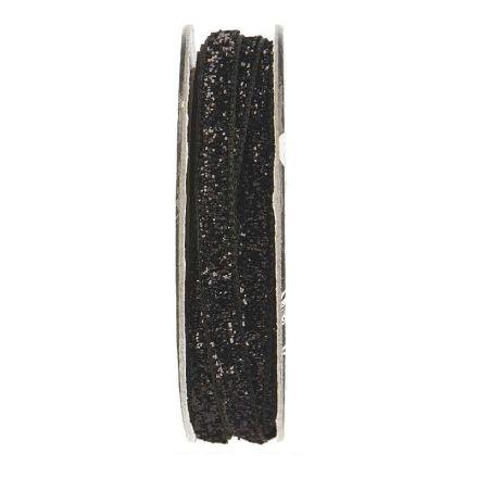 Velcro velours Noir - bobinette 2m