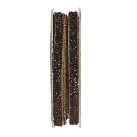 Velcro velours Marron clair - bobinette 2m
