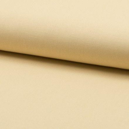 Tissu Coton Sergé d'ameublement uni Ecru - Par 10 cm
