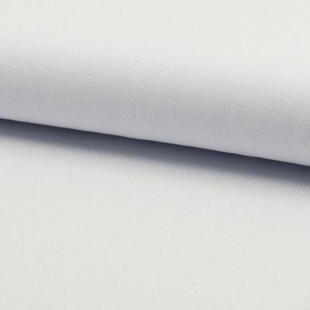 Tissu Coton Sergé d'ameublement uni Blanc - Par 10 cm