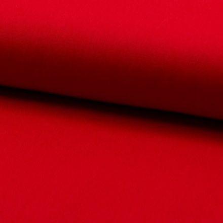 Tissu Coton Sergé d'ameublement uni Rouge - Par 10 cm