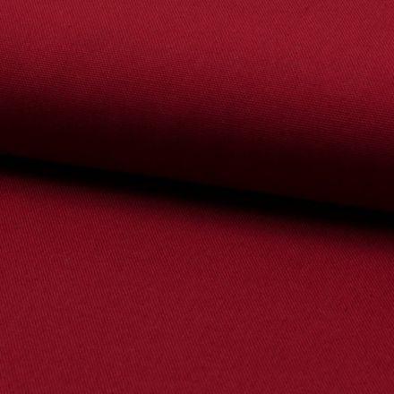 Tissu Coton Sergé d'ameublement uni Pourpre - Par 10 cm