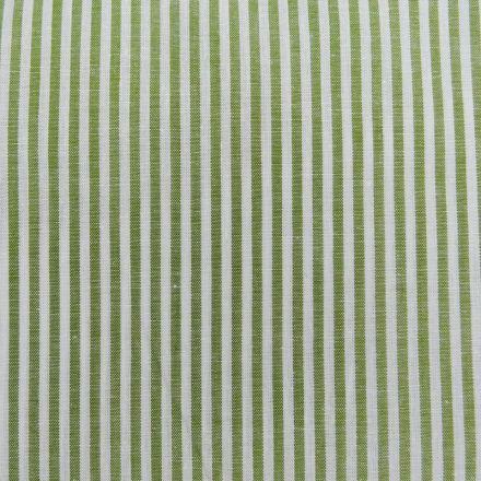 Tissu Vichy Rayures Vert x10cm