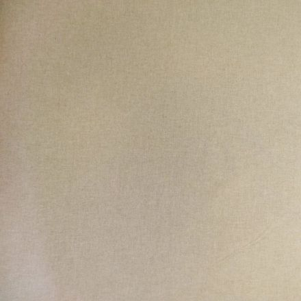 Tissu Toile Coton Beige x10cm