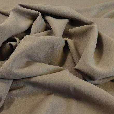 Tissu Crêpe Georgette Beige x10cm
