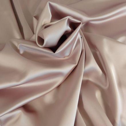 Tissu Satin Duchesse Rose clair x10cm
