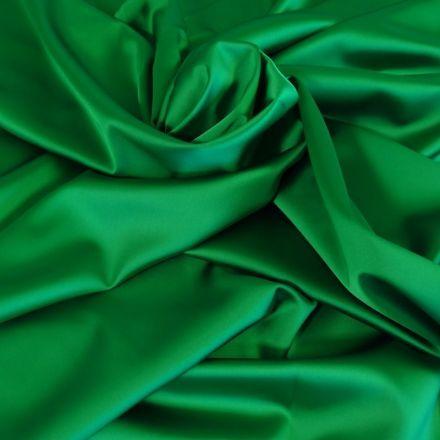 Tissu Satin Duchesse Vert x10cm
