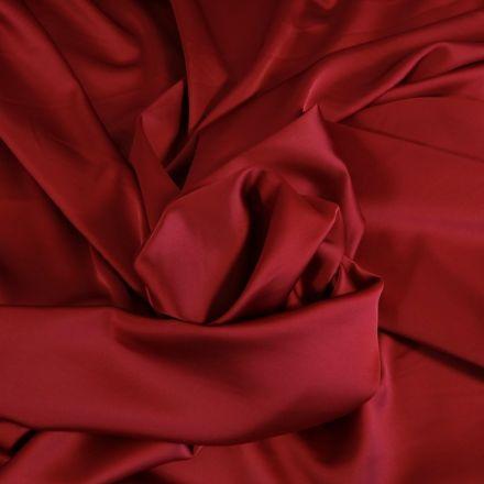 Tissu Satin Duchesse Rouge x10cm