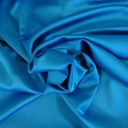 Tissu Satin Duchesse Bleu ciel x10cm