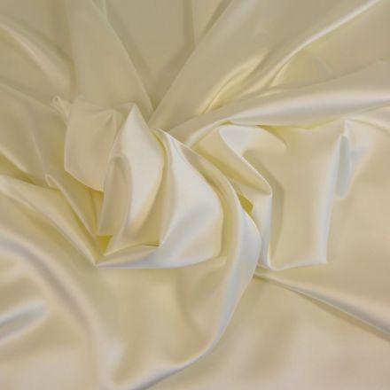 Tissu Satin Duchesse Ecru x10cm