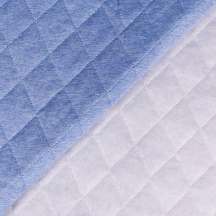 Tissu Doublure Matelassée Pervenche chiné - Par 10 cm