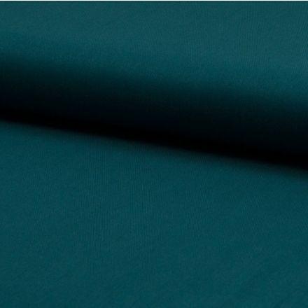 Tissu Viscose Twill uni Vert émeraude - Par 10 cm