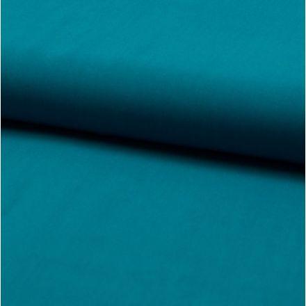 Tissu Viscose légère Bleu canard - Par 10 cm