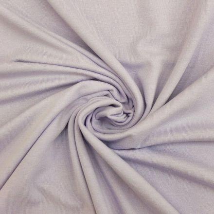 Tissu Jersey Viscose uni Bleu ciel x10cm