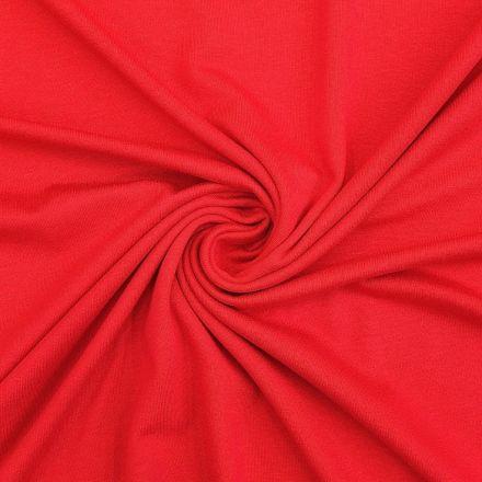 Tissu Jersey Viscose uni Rose vif x10cm