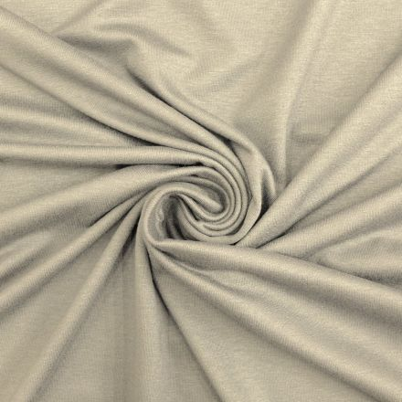 Tissu Jersey Viscose uni Gris x10cm