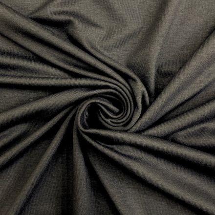 Tissu Jersey Viscose uni Gris souris x10cm
