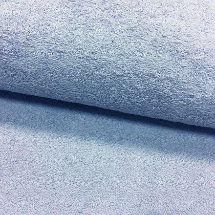 Tissu Eponge légère 320 g/m² Bleu - Par 10 cm