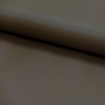 Tissu Simili cuir souple Marron x10cm